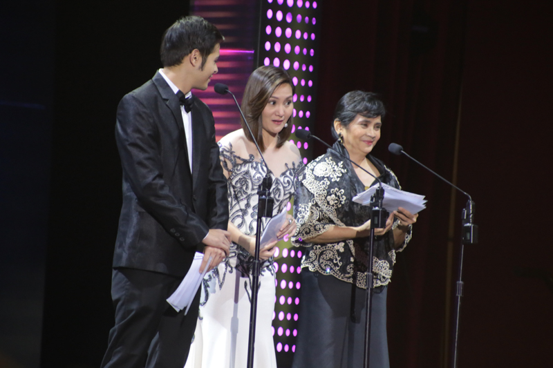 Martin del Rosario, Gladys Reyes, and Benilda S. Santos (MPP). Photo by Paolo Abad/Rappler