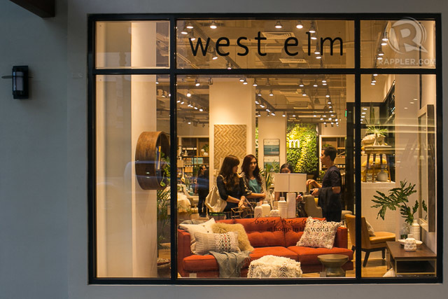A Look At West Elm New Home Furnishings Store At Estancia Mall