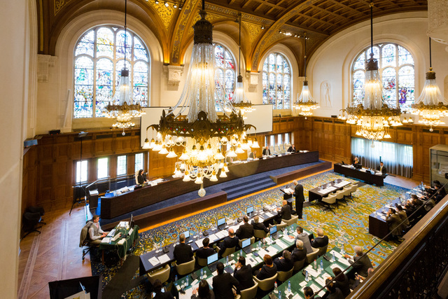 SILENT WITNESS. The venue of the arbitration proceedings is the 100-year-old Peace Palace in The Hague, which also houses the International Court of Justice. Photo courtesy of PCA
