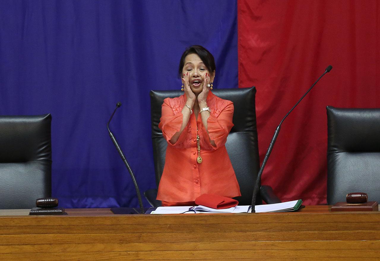 Alvarez out, Arroyo in as House Speaker