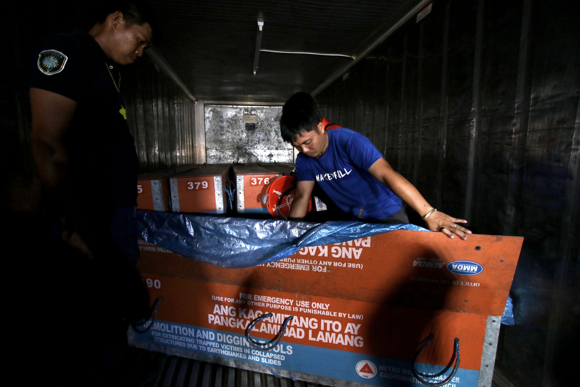MMSHAKEDRILL. The incident command post for the third #MMShakeDrill is located at the South Quadrant. Photo by Inoue Jaena/Rappler