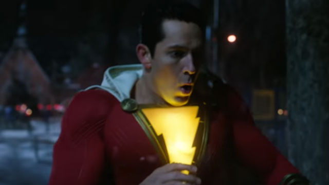 SHAZAM! the superhero movie, starring Zachary Levi is doing well in the US box office. Screenshot from YouTube/Warner Bros Pictures