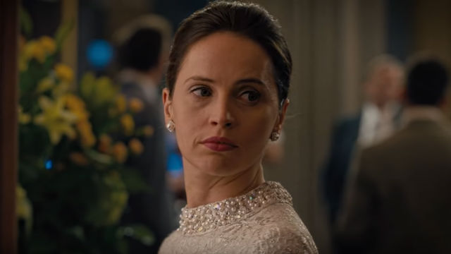 WOMEN'S RIGHTS. Felicity Jones is Ruth Bader Ginsburg in 'On the Basis of Sex.' All screenshots from YouTube/Focus Features