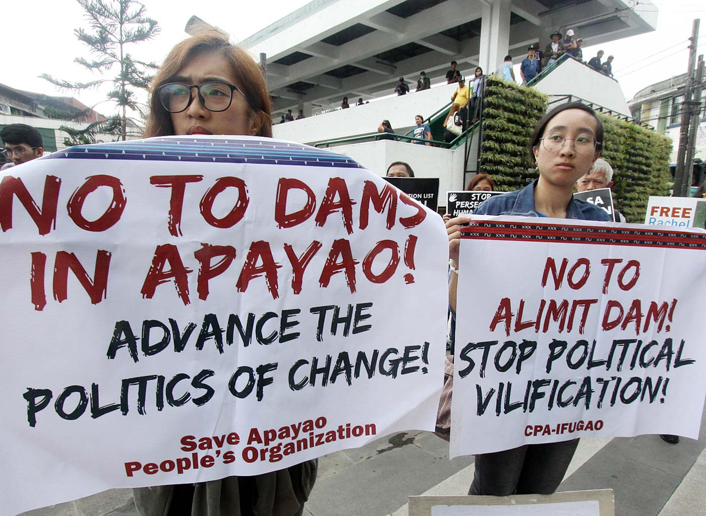 OPPOSE. Before President Duterte delivers his 4th SONA, militant groups in Baguio City march along central district as they protest against the Duterte administration. Photo by Mau Victa/Rappler