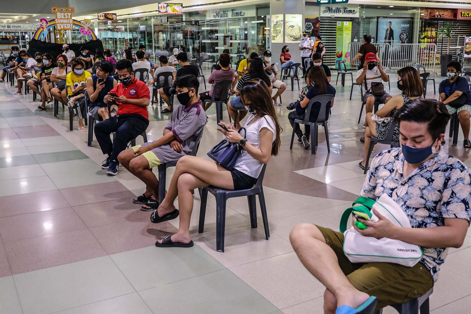 Face Masks Physical Distancing House Bill Sets New Normal In