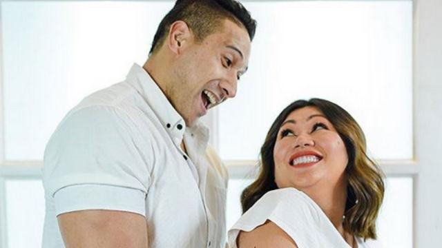 PARENTS. Eric Tai and Rona Samson-Tai welcome their son Legend. Screenshot from Instagram/@niceprintphoto/@rownita
