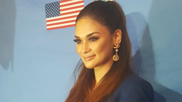 NEW MOVIE. Pia Wurtzbach confirms she's set to do an 'off-beat' film under Black Sheep. Photo by Alexa Villano/Rappler