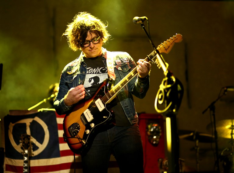 CANCELLED. File photo taken on March 16, 2016, singer-songwriter Ryan Adams performs during SXSW in Austin, Texas. Ticketmaster Ireland announced that the singer's shows in the UK and Ireland have been cancelled, following the sexual abuse allegations against him. Photo by Christopher Polk / Getty Images North America/ AFP