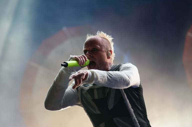 DEAD AT 49. File photo taken on August 09, 2015 shows Keith Flint of group The Prodigy performing at the 10th annual Incheon Pentaport Rock Festival in Incheon, west of Seoul on August 9, 2015. The singer has died at the age of 49, it was reported on March 4, 2019. Photo by Ed Jones/AFP