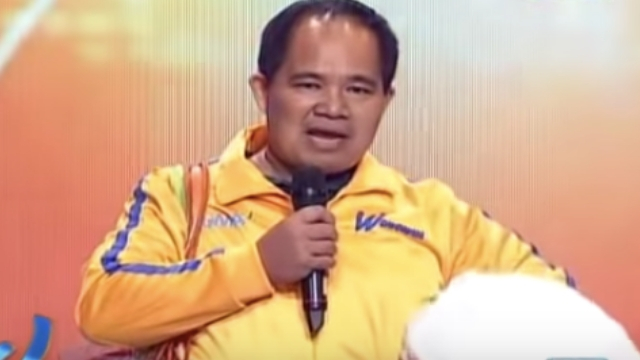 BENTONG. The comedian appears on 'Wowowin' in 2016. Screenshot from YouTube.com/GMANETWORK
