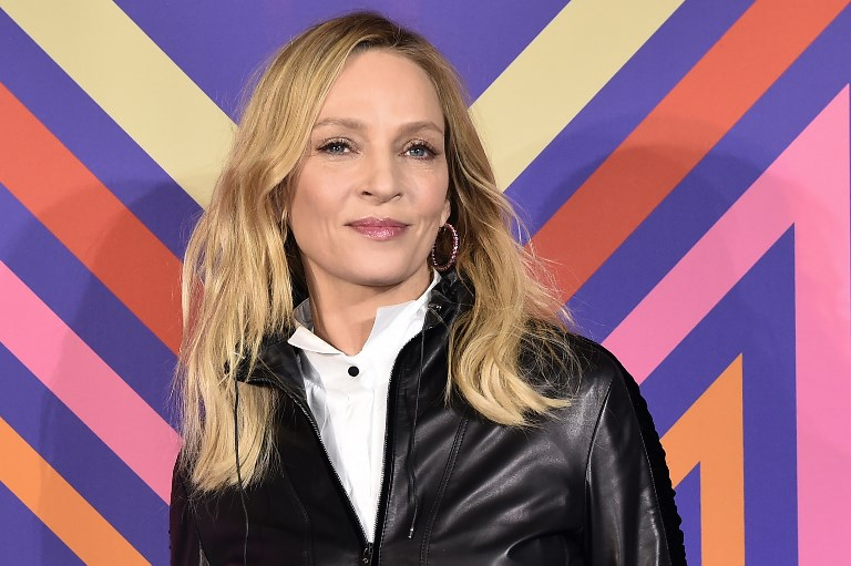 #METOO MOVEMENT. Uma Thurman says she's happy about how the #MeToo movement has changed some things in Hollywood, but also warned it may 'crush creativity'. Photo by Francois Lo Presti / AFP