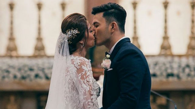 MARRIED. Sunshine Garcia and Alex Castro marry on March 2, after being together for 3 years. Screenshot from Instagram/mymetrophoto