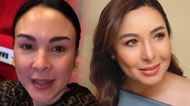 LONG WAY. Gretchen Barretto says she's not yet ready to face her sister Marjorie, who she says has become 'toxic,' in her life. Screenhots from Instagram/@gretchenbarreto/@marjbarretto