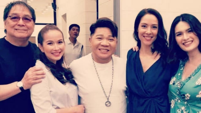 DABARKADS. Cindy Kurleto snaps a photo with her former 'Eat Bulaga!' co-hosts. Screenshot from Instagram.com/cindy_kurleto