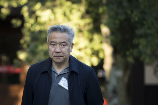 STEPPING DOWN. File photo show Kevin Tsujihara, chairman and chief executive officer of Warner Bros. Entertainment during the annual Allen & Company Sun Valley Conference on July 11, 2018 in Sun Valley, Idaho. Photo by Drew Angerer/Getty Images/AFP