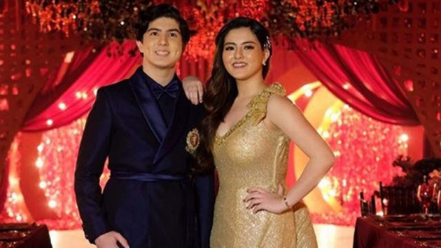 HAPPY BIRTHDAY. Mavy and Cassy Legaspi celebrate their 18th birthday in style. Screenshot from Instagram/@niceprintphoto