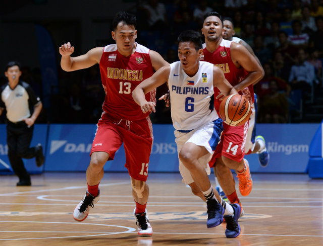 NCAA MVP Earl Scottie Thompson scored 5 points in the championship match. Photo by Singapore SEA Games Organising Committee/Action Images via Reuters