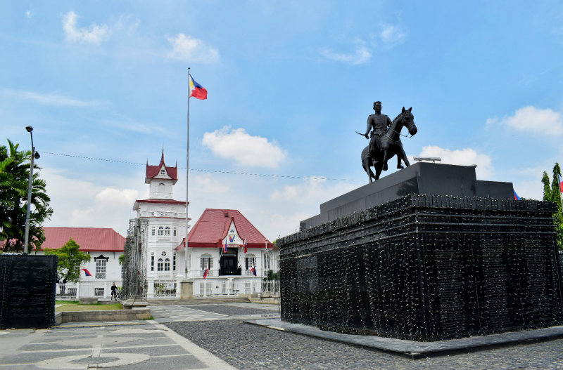 EXHIBIT. Sa Langit Mong Bughaw: A Flag Exhibit, will be on until June 12 at the Aguinaldo Shrine