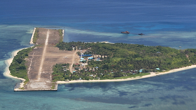 PAG-ASA ISLAND. The second biggest island in the disputed South China Sea is home to about a hundred Filipinos. Photo by SSg Amable Milay/Philippine Air Force