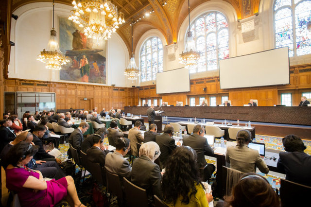 GLOBAL INTEREST. Seven countries send observers to the arbitral tribunal hearings at The Hague on the Philippines' historic case against China. File photo from the Permanent Court of Arbitration