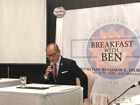 REHAB. Budget chief Ben Diokno says about two-thirds of Marawi City can be inhabited again but the remaining third will have to be redesigned into a 'new city'.