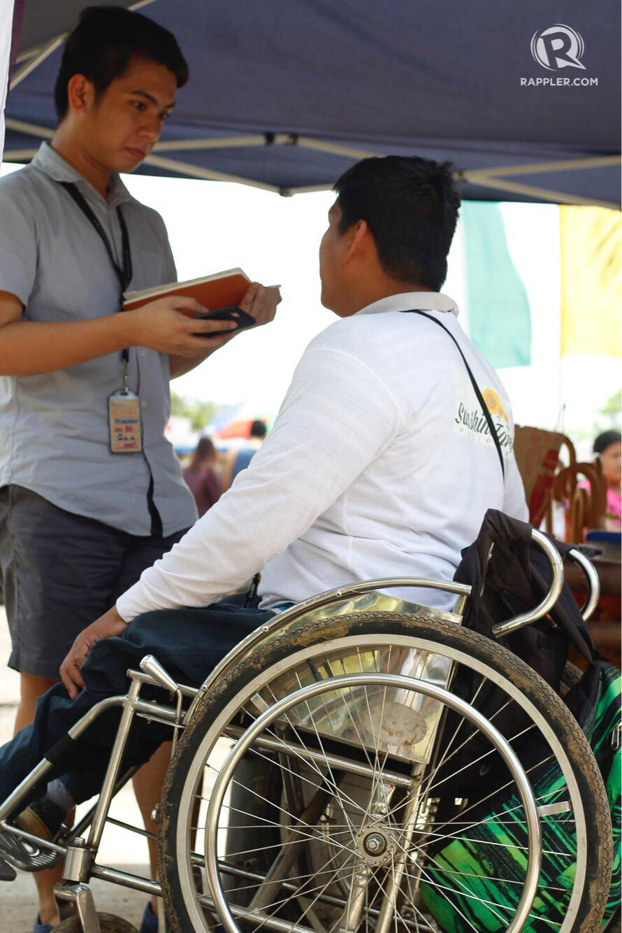 HOPE. Farm manager Ben Villanueva hopes that more establishments will provide livelihood to PWDs. Photo by Empoy Soriano