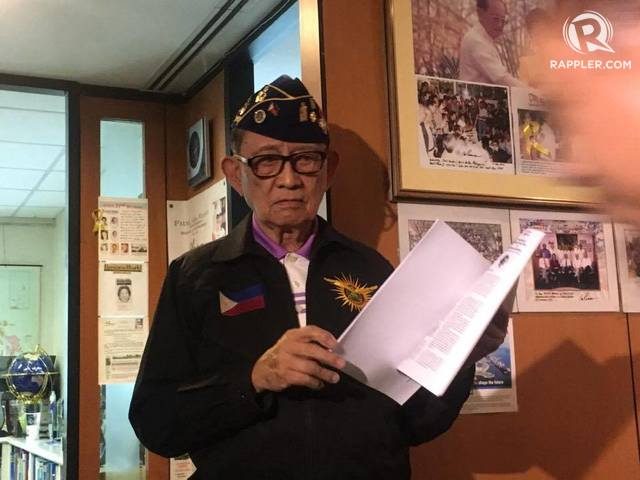 NO CHAIN OF COMMAND? Former president Fidel V Ramos blasts military and police officials for the burial of the late president Marcos at the Libingan ng mga Bayani. Photo by Camille Elemia/Rappler