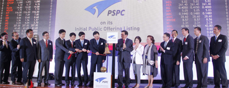 LISTED. Phoenix Semiconductor Philippines Corporation concludes its initial public offering by listing its shares at the Philippine Stock Exchange (PSE), Monday, December 1. Photo from PSE