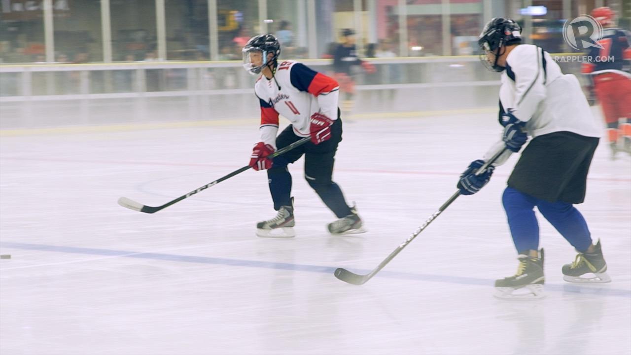 Watch Ph Ice Hockey Team Skates Towards Sea Games Debut