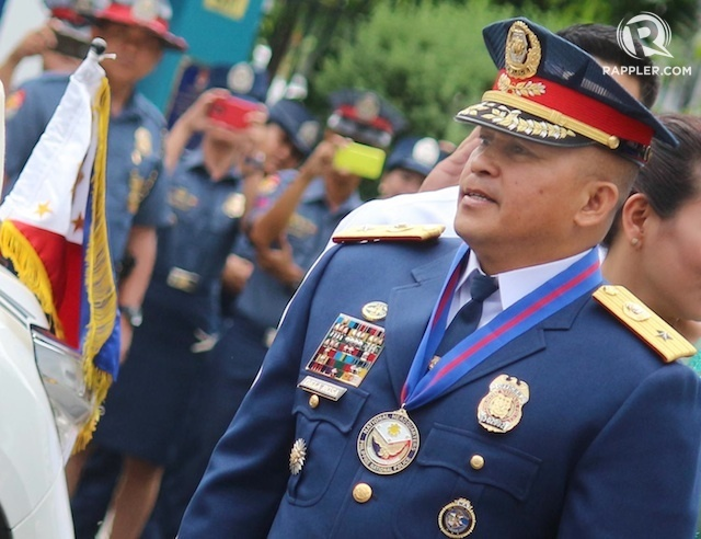 FOCUS ON CLEANSING. File photo of PNP chief Ronald dela Rosa