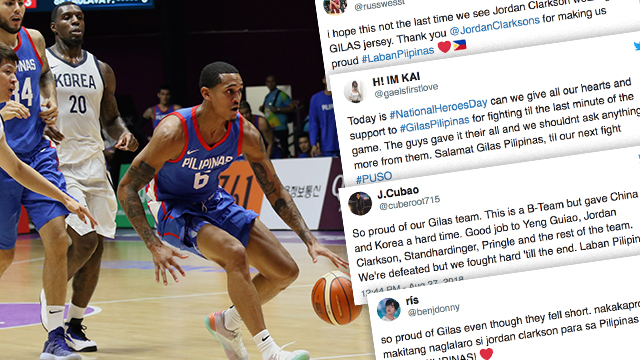 sale retailer e8511 f217d Grateful netizens wish to see Clarkson play for Gilas again