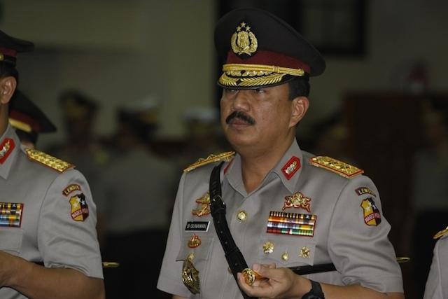 Komjen Budi Gunawan pada 26 Desember 2012. Foto oleh Subekti/Tempo