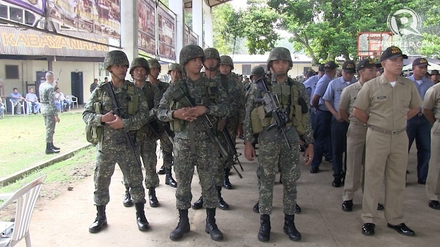 MANHUNT. The Philippine military is now pursuing a senior member of the Jema'ah Islamiyah. File photo