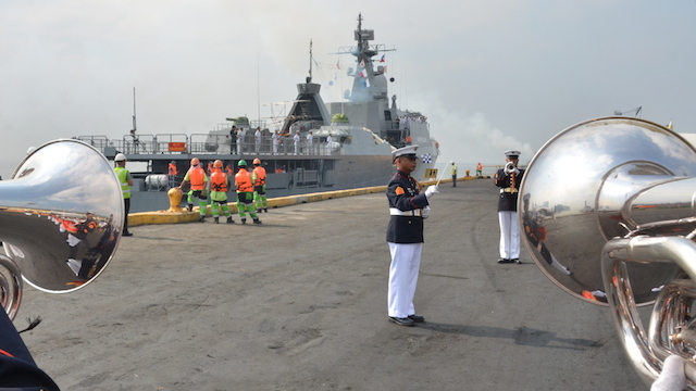 GOODWILL VISIT. The Vietnam People's Navy make its first ever port call in Manila. Photo from the Philippine Navy