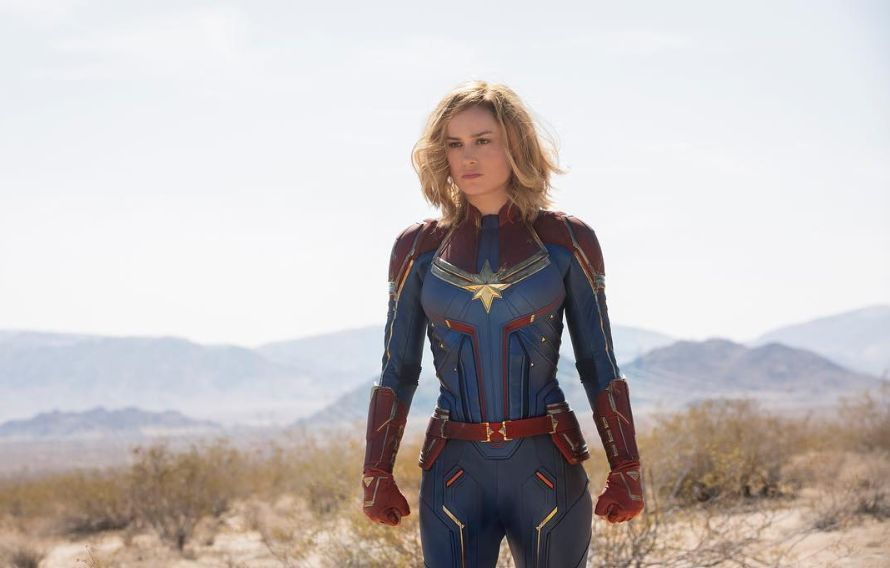 BIG DEBUT. 'Captain Marvel' flies to the top of box offices on its opening weekend. Photo from Captain Marvel's Instagram account