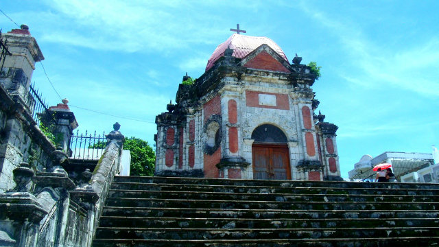 HOLY PLACE. A place for devotion also serves as a tourist attraction in Iloilo.