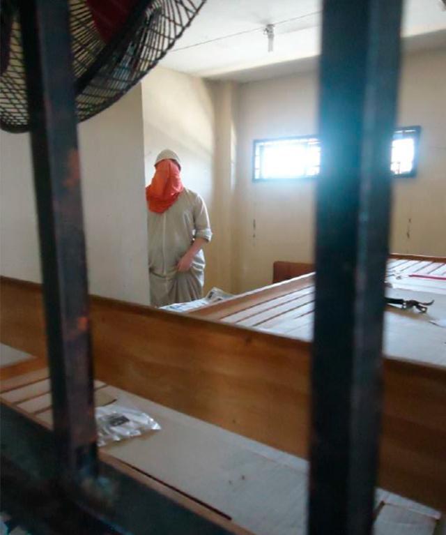 ONLINE CHEERLEADER FOR ISIS. Musa Cerantonio after his arrest in Cebu. Photo courtesy of the PNP