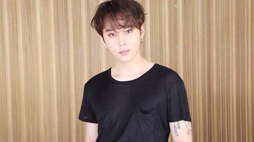 ANOTHER RESIGNATION. The 3rd K-pop star to resign from show business is Yong Jun-hyung of Highlight. Photo from Highlight's Facebook page