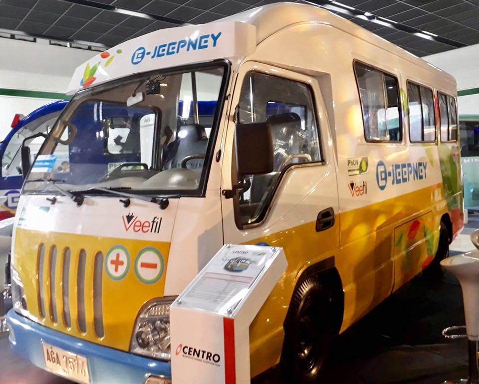NEW JEEP. The Public Utility Vehicle modernization program seeks to provide a safer and environment-friendly option for commuters. All photos from Department of Transportation - Philippines Facebook Page