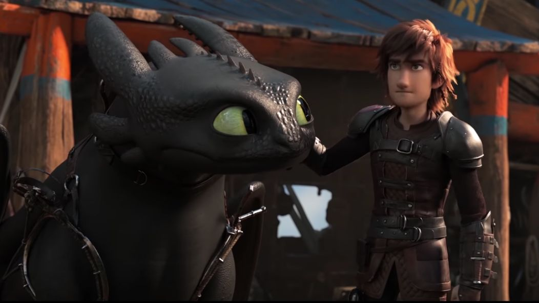 BOX OFFICE HIT. The last film in the 'Dragon' trilogy stays at the top of the North American box office. Screenshot from Dreamworks TV's Youtube page