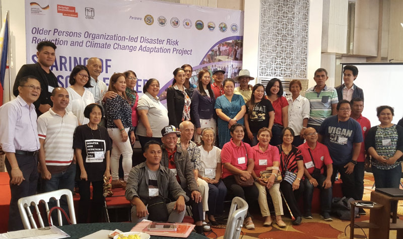RESOURCES, NOT BURDENS. COSE staff members pose with their AA Project partners from different barangays. Photo by Gaby Baizas/Rappler