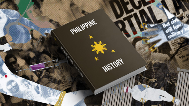 Review martial law in books? Include other presidents too