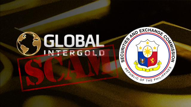 LEGAL ACTION. Global Intergold said it will pursue legal actions against unauthorized group that has misused its name for illegal operations
