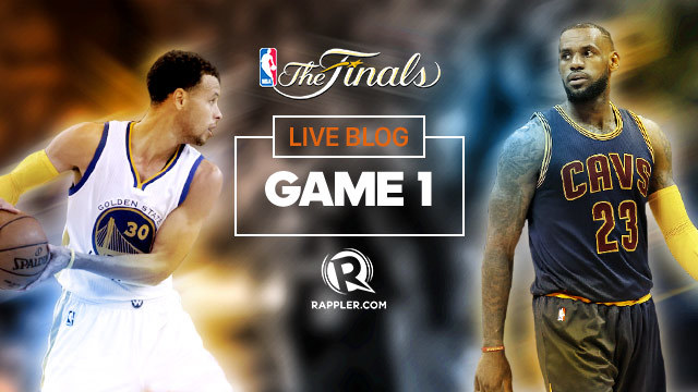 HIGHLIGHTS: Warriors vs Cavaliers NBA Finals Game 1