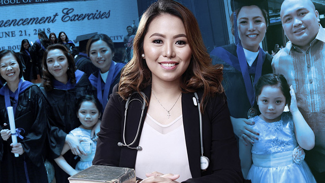 FROM MD TO ATTY. Doctor Jean Joan Polido passes the 2018 Bar Exams. All photos from Polido