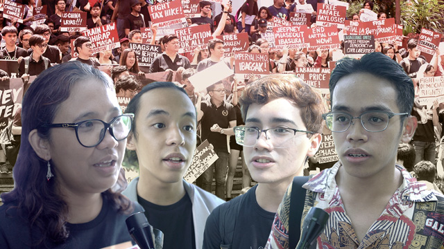 SPEAK OUT. Students, faculty, and alumni share their thoughts on the military's red-tagging of schools.