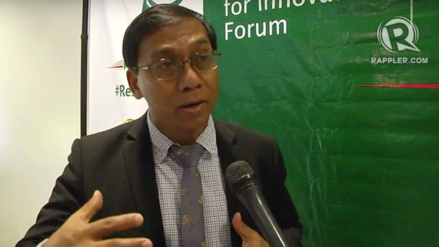 """DOST Undersecretary for Disaster Risk Reduction and Climate Change Renato Solidum weighs in on the viral """"resilience"""" photo on August 23, 2018."""