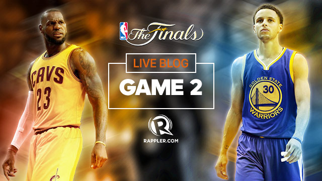 Nba Finals 2015 Live Game 2 | All Basketball Scores Info