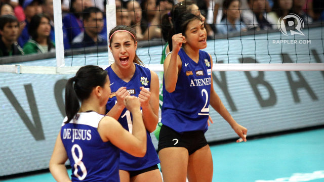 The Lady Eagles complete a Season 77 sweep and bag their second