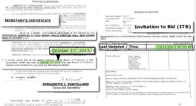 proxy - How Binay 'dummies' cornered Makati contracts for a decade - LGU Philippines